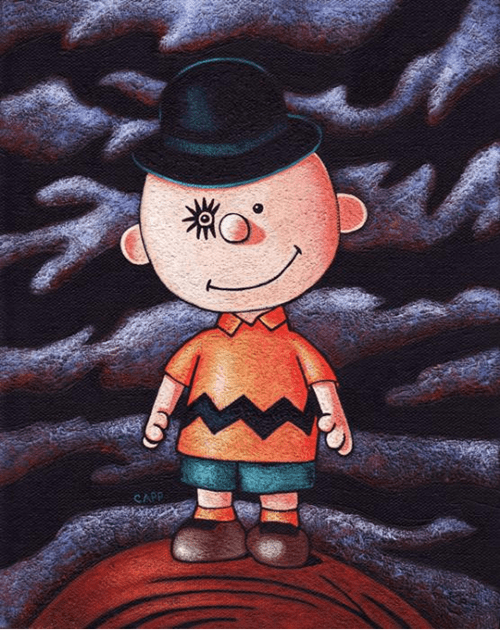 mashup,Fan Art,alex,charlie brown,A Clockwork Orange