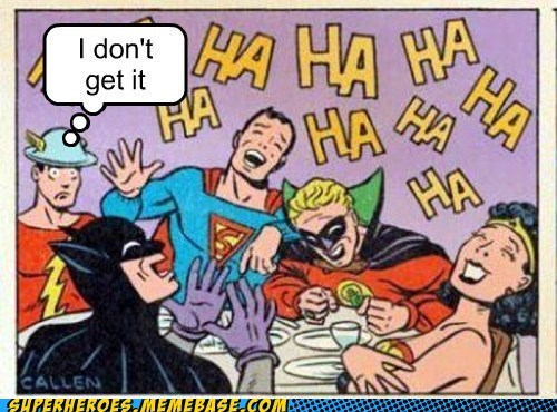 JLA,joke,flash,not so quick