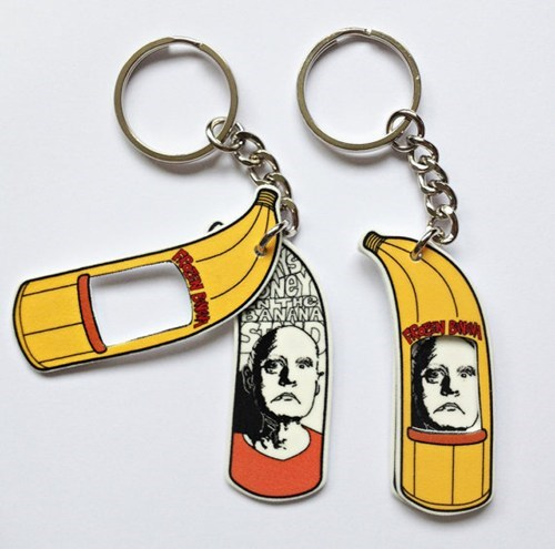 Keychain arrested development george bluth banana stand