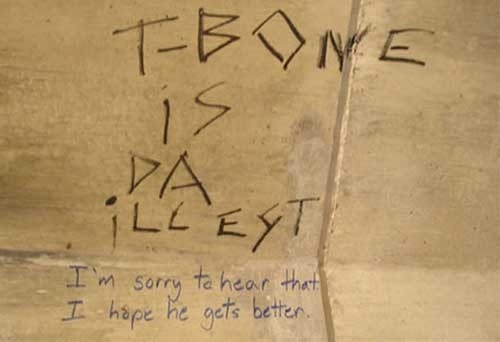 Bathroom Graffiti clever response graffiti - 6824462848