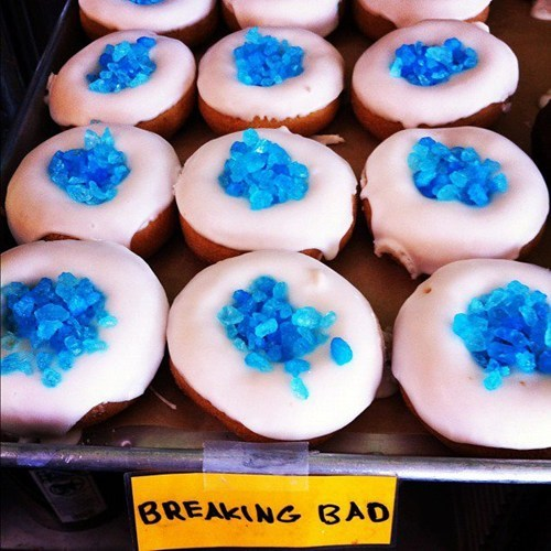 breaking bad,meth,doughnut,food