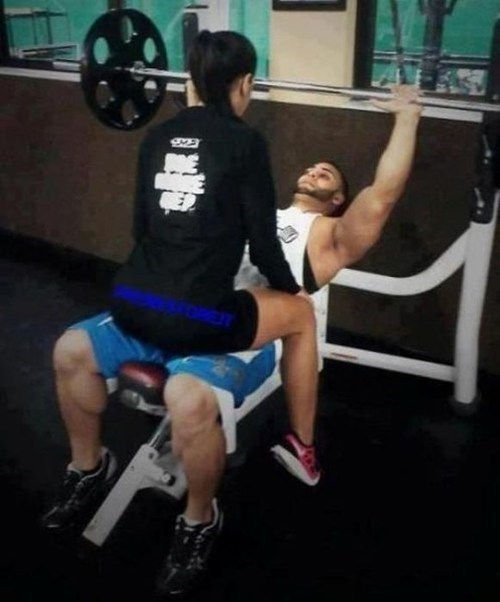bros gym not what it looks like working out - 6824479488