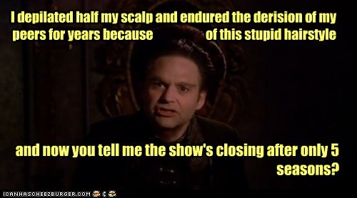 stephen furst,cancelled,hairstyle,angry,scalp,vir cotto,stupid,Babylon 5