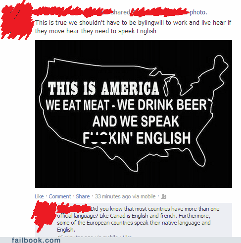 merica Trilingual speak english murrica Murika bilingual