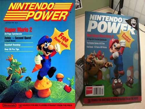 Sad,nintendo power,print is dead,magazine,nintendo