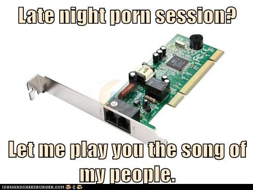 Late night porn session? Let me play you the song of my people.