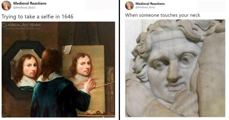 medieval painting memes