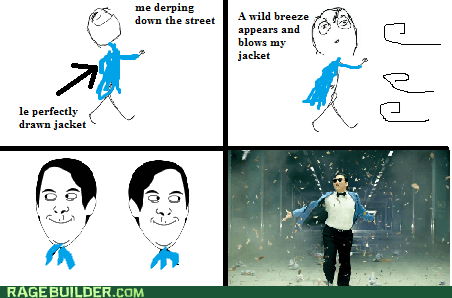 haters gonna hate,jacket,gangnam style