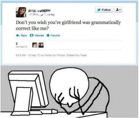 your grammar wrong youre - 6826981888