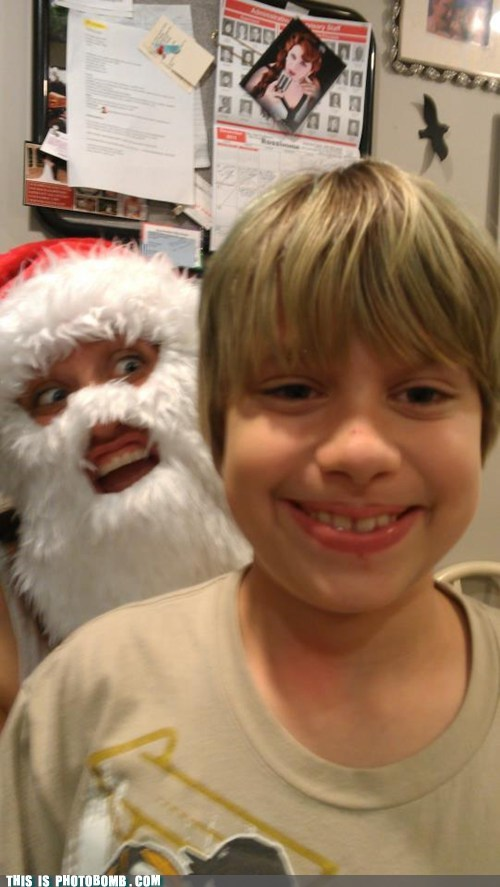 scary,creepy,santa
