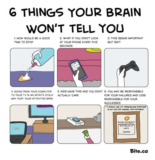 6 Things Your Brain Won't Tell You