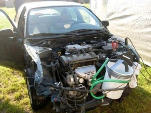 car hood engine fail car engine engine - 6827341568