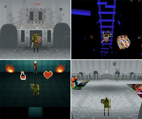 game skrillex dubstep 8 bit zelda