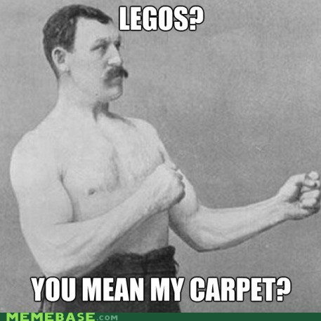 legos overly manly man carpet - 6827405056