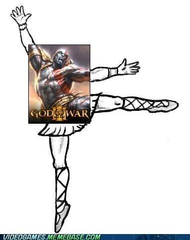 god of war ballerina kratos - 6827412480