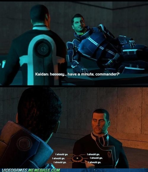mass effect,kaidan,I should go