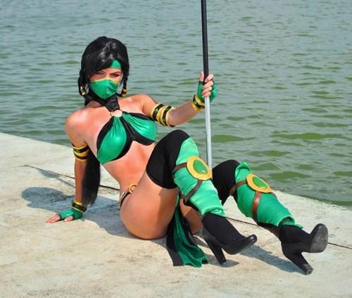 cosplay Mortal Kombat jade video games - 6827451648