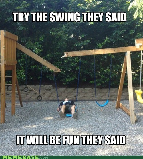 FAIL,swings,They Said