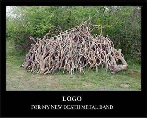 logo death metal wood genius - 6827583744