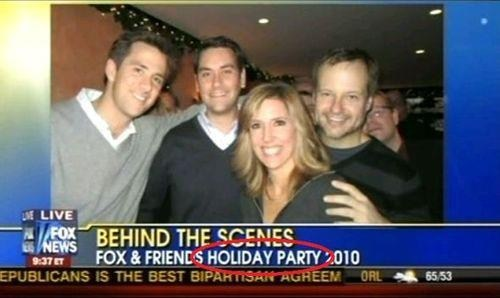 War on Christmas behind the scenes fox news holiday Party fox and friends - 6827747840