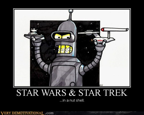 bender star wars nutshell Star Trek