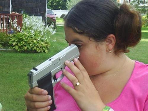 bad idea gun safety - 6828071168