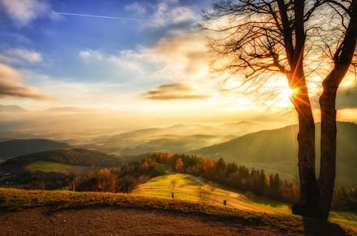pastoral park landscape hill - 6828411904