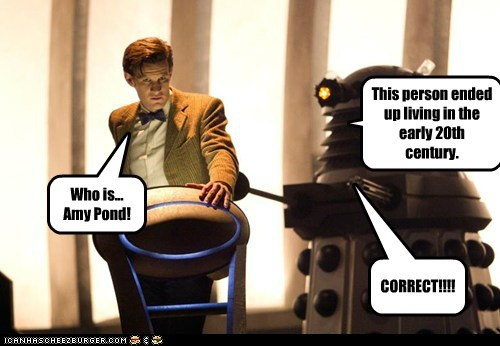 Jeopardy,the doctor,daleks,Matt Smith,doctor who,amy pond