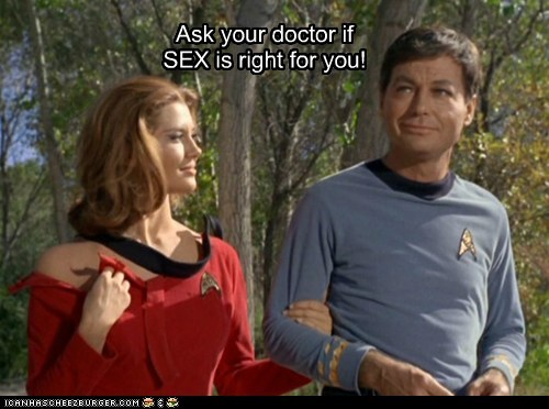 McCoy doctor DeForest Kelley Star Trek prescription - 6828815872