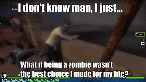 zombie,depressed,pills,left 4 dead 2
