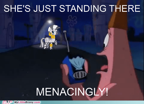 menacingly patrick star SpongeBob SquarePants zecora - 6830018304
