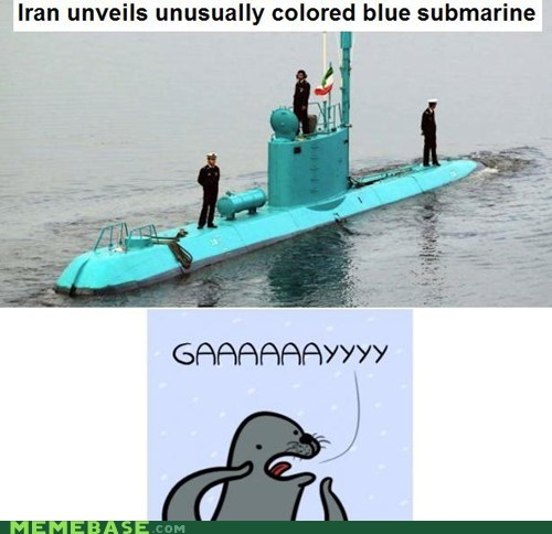 submarine gay seal iran - 6830033408