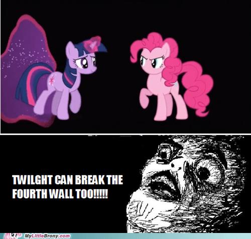 twilight sparkle 4th wall pinkie pie - 6830375424