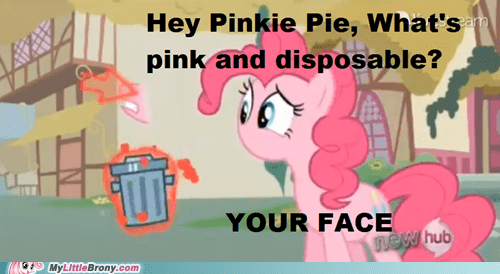 your face,pinkie pie,magic