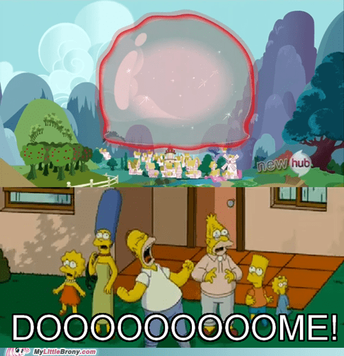 dome,the simpsons,trixie's magic