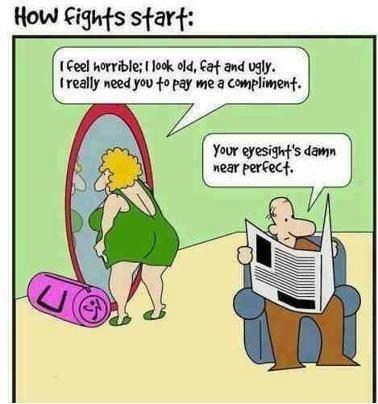 eyesight,fights,compliments,so it begins