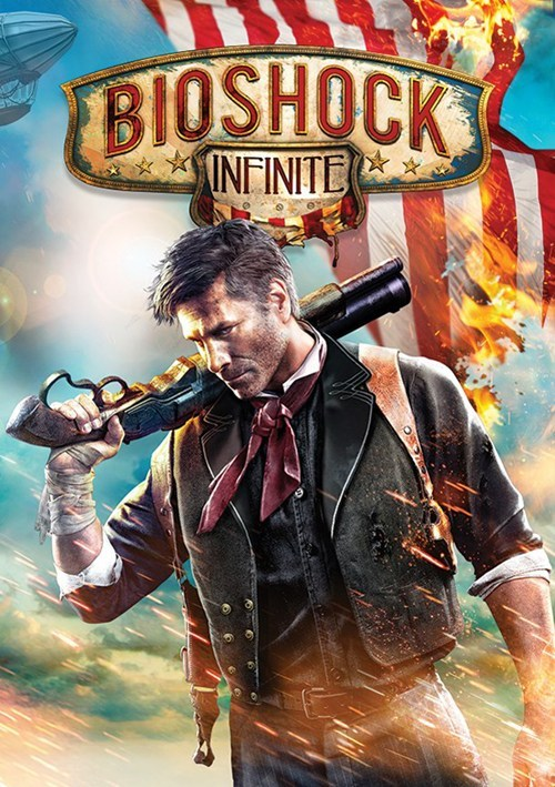 bioshock infinite,box art,bioshock