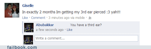 third ear,ear piercing