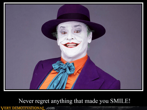 joker,batman,quote,smile