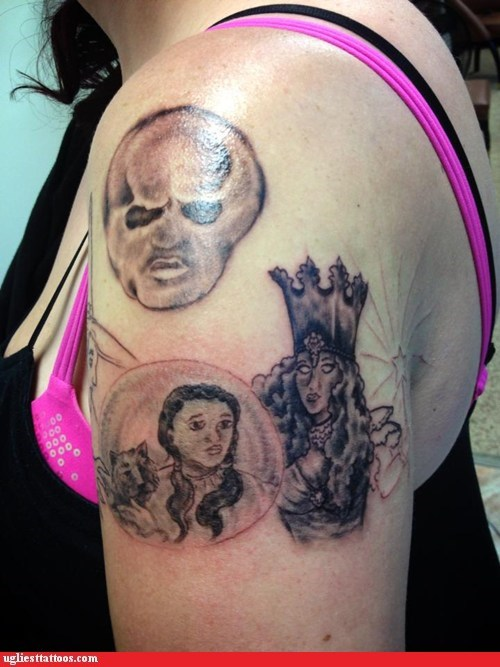 arm tattoos the wizard of oz - 6831874816