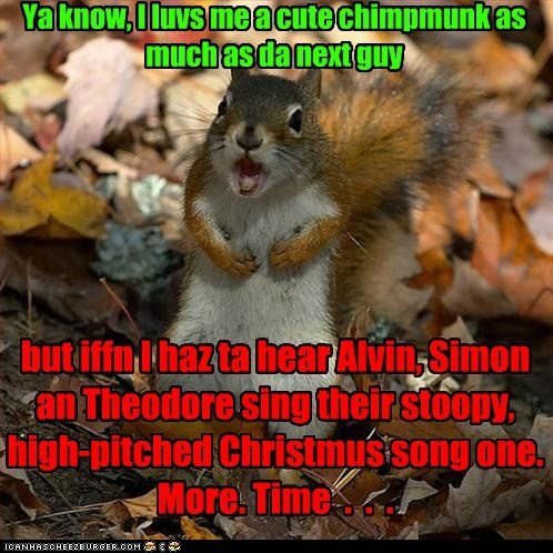high pitch,annoying,song,chipmunks,christmas songs