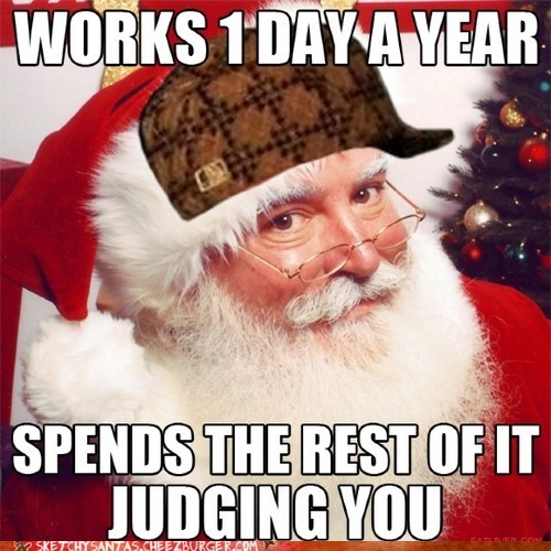 christmas,scumbag,santa,funny,holidays