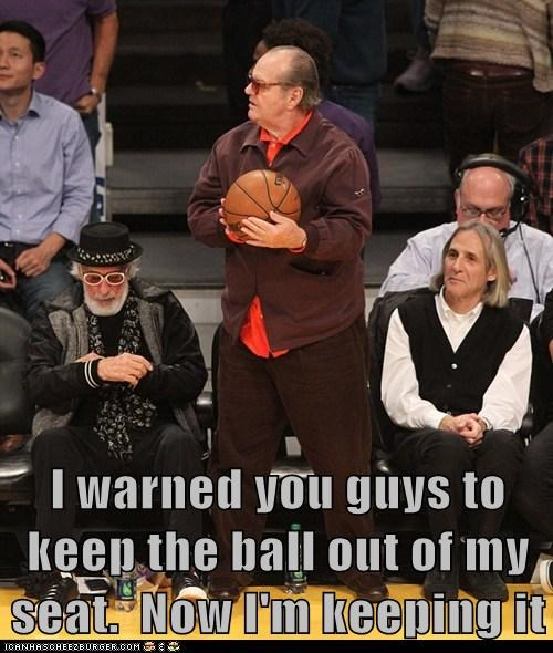 jack nicholson catch keeping it basketball i warned you