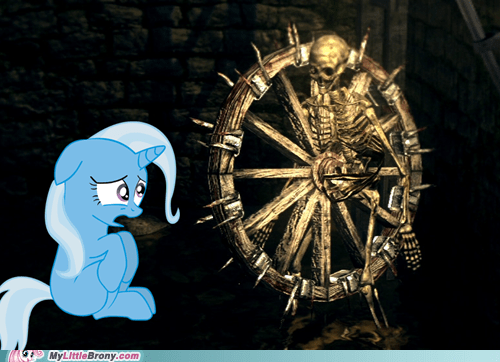 Sad trixie wheels skeleton - 6832875520