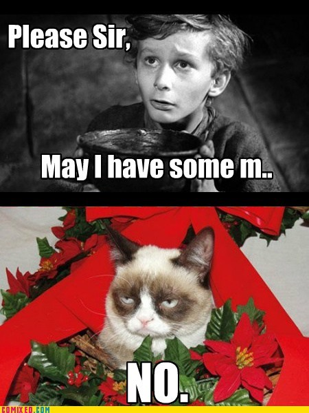 christmas more Movie Grumpy Cat oliver twist - 6832922624