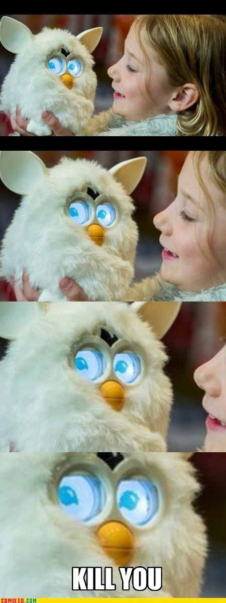 SOON,creepy,furby,cute