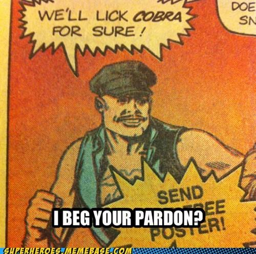 gung ho cobra lick snakes GI Joe - 6833676544