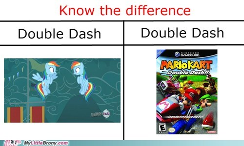 double dash,gamecube,video games,know the difference