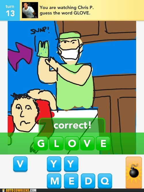glove draw something up the butt - 6835108864