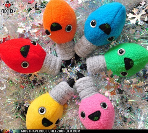 christmas lights Plush - 6835139840
